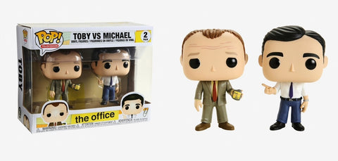 The Office: Michael vs Toby Funko