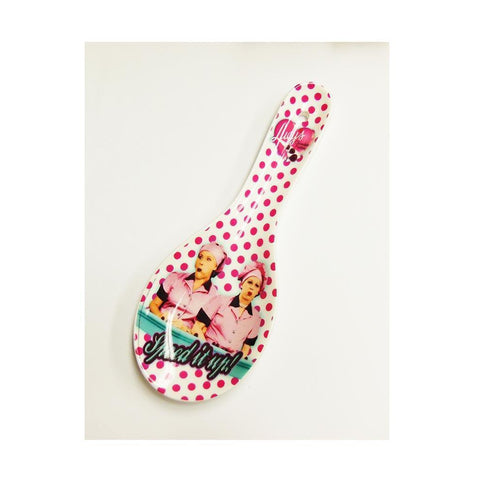 Lucy Polka Dot Spoon Rest - National Comedy Center