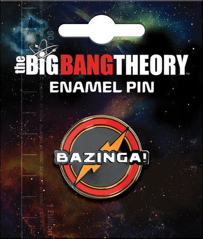 Big Bang Theory: Bazinga Enamel Pin