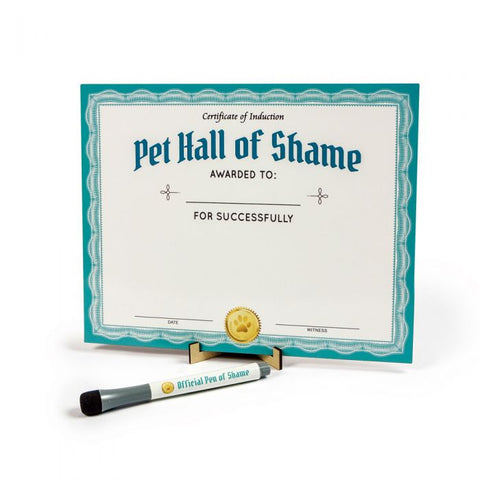 Howligans Pet Shaming Dry Erase Board - National Comedy Center