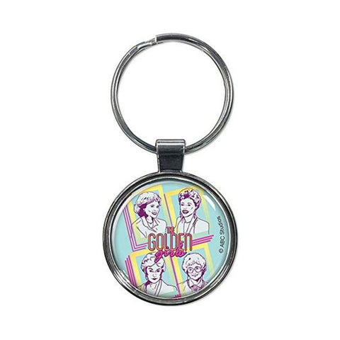 Golden Girls Teal Keychain - National Comedy Center