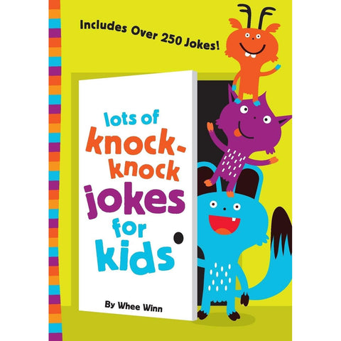 Lots of Knock-Knock Jokes for Kids by Whee Winn - National Comedy Center