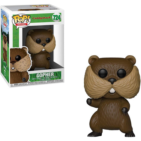 Funko Pop! Movies: Caddyshack Gopher - National Comedy Center