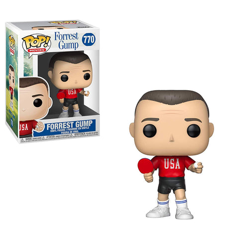 Funko Pop! Movies Forrest Gump Forrest in Ping Pong Outfit - National Comedy Center