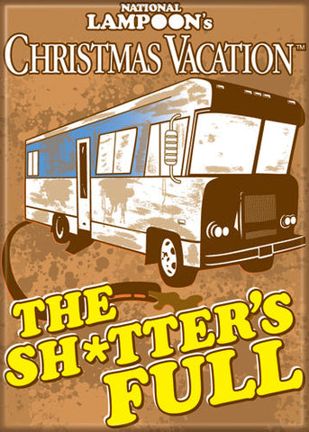 National Lampoon's Christmas Vacation: Sh*tters Full Magnet
