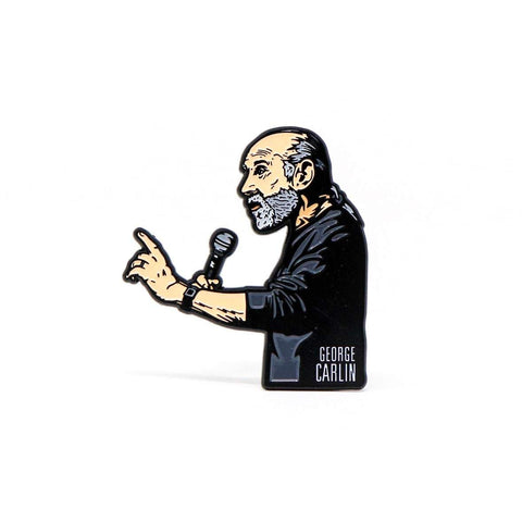 George Carlin 'Jammin' In New York Enamel Pin - National Comedy Center