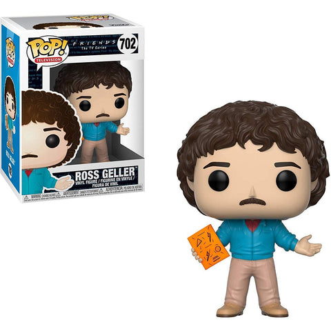 Funko Pop! TV: Friends 80's Hair Ross Geller