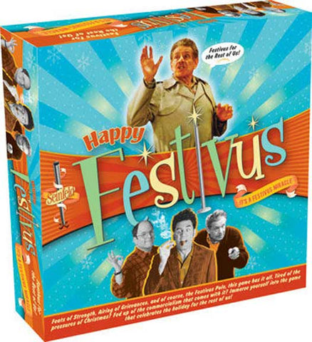 Seinfeld Festivus Game - National Comedy Center