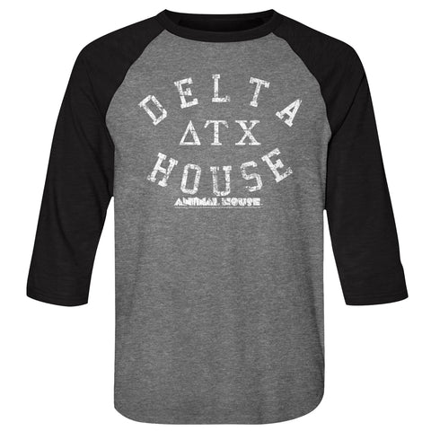 National Lampoon's Animal House: Delta House Baseball Tee - National Comedy Center