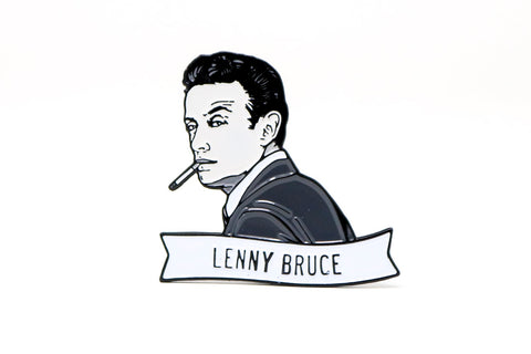 Lenny Bruce Enamel Pin - National Comedy Center