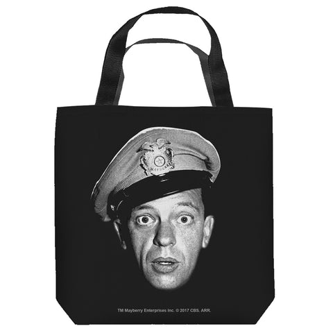 The Andy Griffith Show: Barney Head Tote Bag