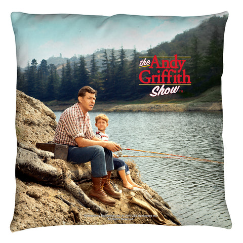 The Andy Griffith Show: Fishing Hole Throw Pillow