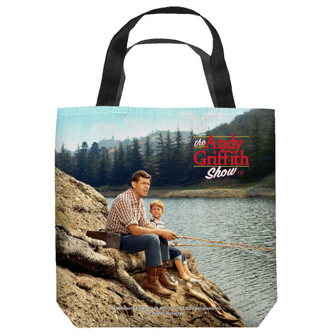 The Andy Griffith Show: Fishing Hole Tote Bag