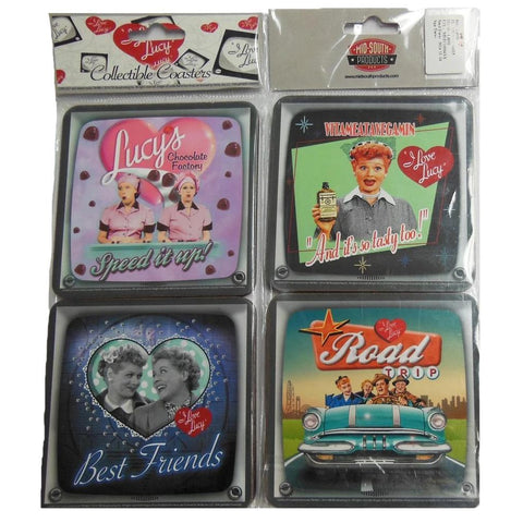 I Love Lucy 4-pack Coasters - National Comedy Center