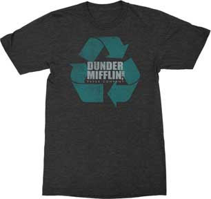Dunder Mifflin Logo T-Shirt - National Comedy Center