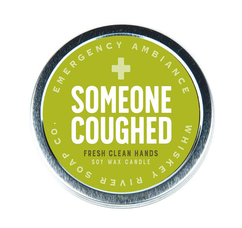 Someone Coughed Emergency Ambiance Travel Tin