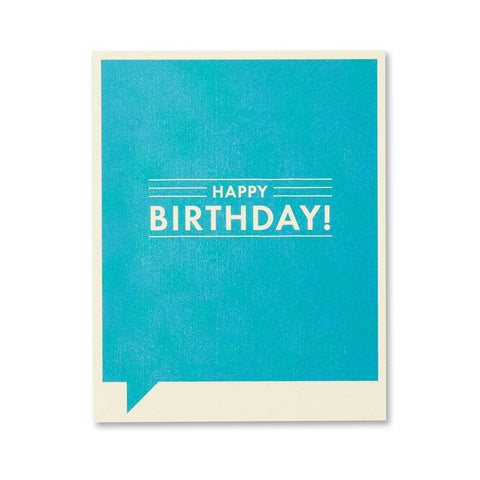 Happy Birthday Card - National Comedy Center