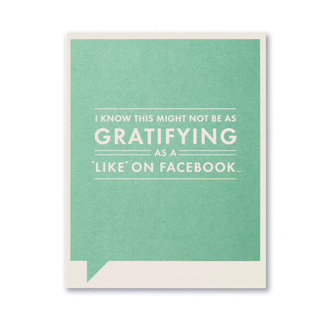 Facebook Congratulations Card - National Comedy Center