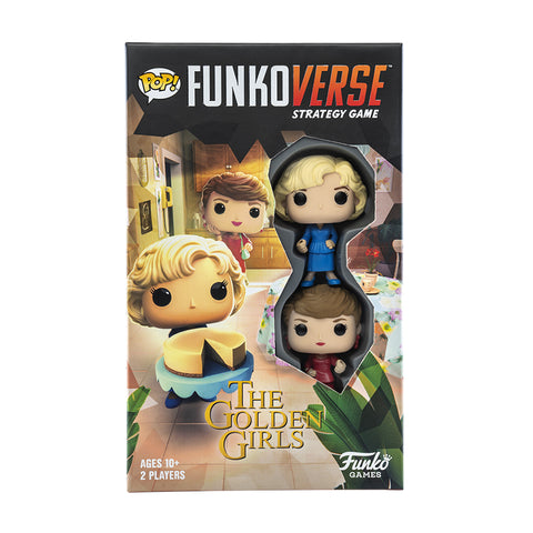 Funko Pop! Funkoverse Strategy Game - The Golden Girls (Blanche and Rose) - National Comedy Center