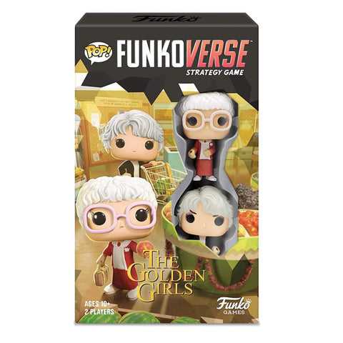 Funko Pop! Funkoverse Strategy Game - The Golden Girls (Sophia and Dorothy) - National Comedy Center
