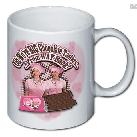 I Love Lucy Chocolate Tasters Mug - National Comedy Center