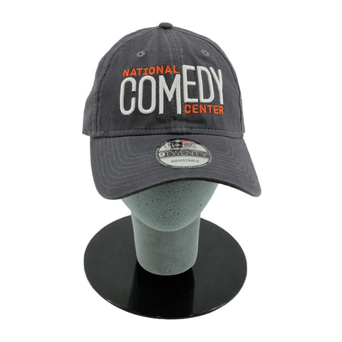 National Comedy Center Gray & Orange Logo Hat - National Comedy Center
