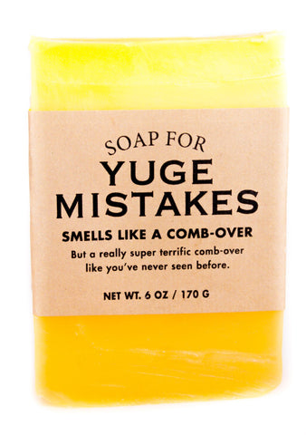 Soap for Yuge Mistakes - The Comedy Shop