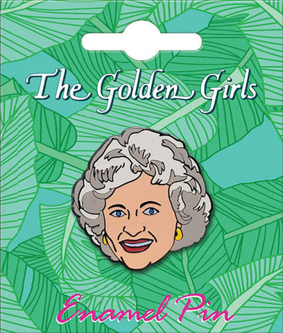 The Golden Girls Rose Enamel Pin - National Comedy Center