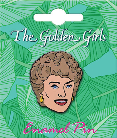 The Golden Girls Blanche Enamel Pin - National Comedy Center