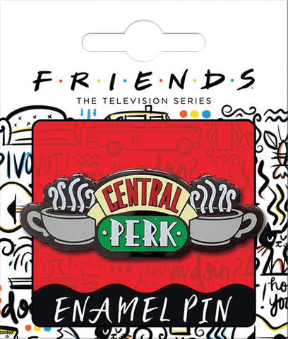 Friends Central Perk Enamel Pin - National Comedy Center