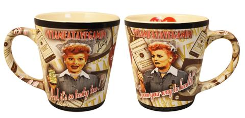 I Love Lucy Vita Latte Mug - National Comedy Center