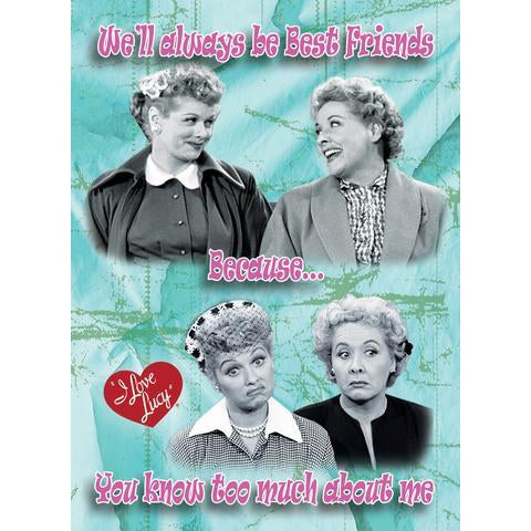 I Love Lucy Best Friends Magnet - National Comedy Center