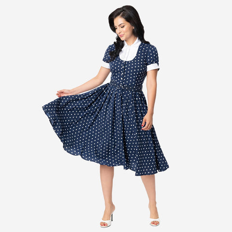 I Love Lucy Ricardo Dress Blue - National Comedy Center