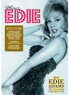Here's Edie: The Edie Adams Television Collection DVD Box Set - National Comedy Center