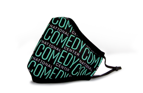 National Comedy Center Repeating Logo Mask