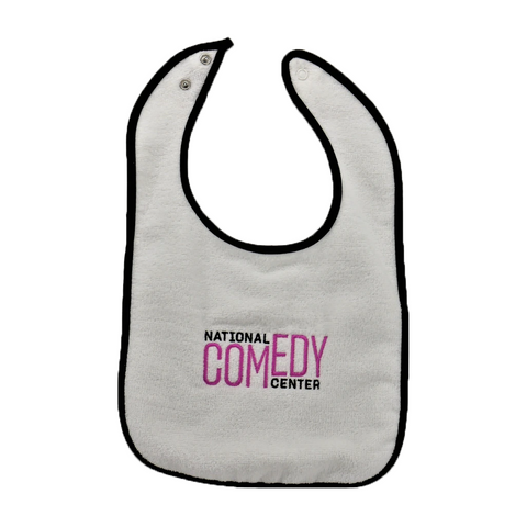 National Comedy Center Baby Bib - National Comedy Center