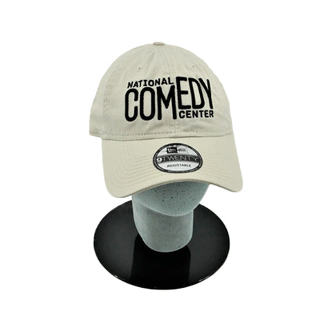 National Comedy Center New Era Stone & Black Hat - National Comedy Center