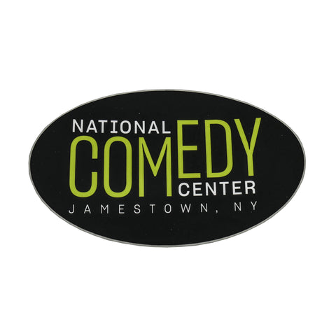 National Comedy Center Oval Sticker - National Comedy Center
