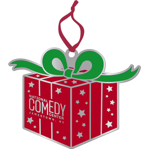 National Comedy Center Present Ornament - National Comedy Center