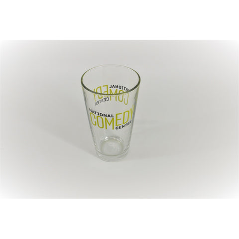 National Comedy Center Logo Pint Glass - National Comedy Center