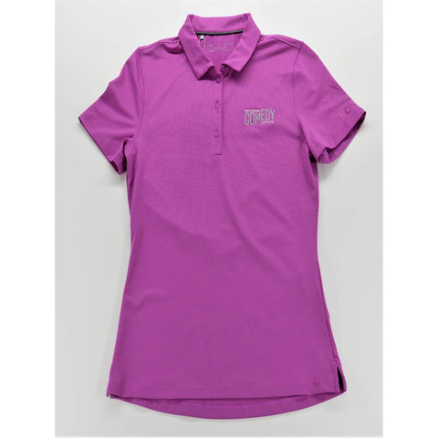 National Comedy Center Under Armour Women's Leader Core Polo - National Comedy Center