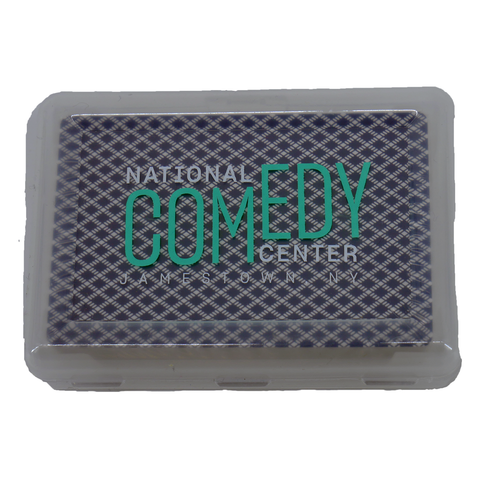 National Comedy Center Playing Cards in Travel Case - National Comedy Center