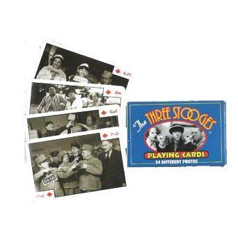 Three Stooges Playing Cards - National Comedy Center