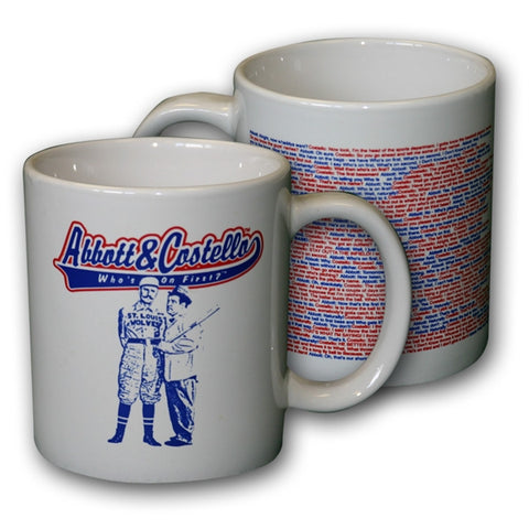 Abbott & Costello Jumbo Mug - National Comedy Center