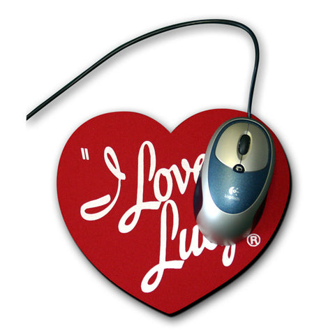 I Love Lucy Logo Mouse Pad - National Comedy Center
