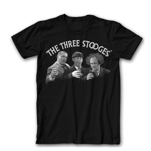 Three Stooges Cheers T-Shirt - National Comedy Center