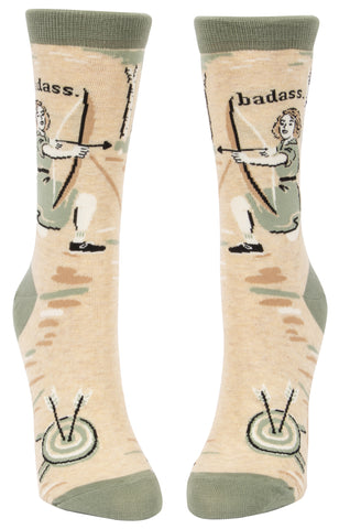 Bad*** Archer Ladies Socks - National Comedy Center