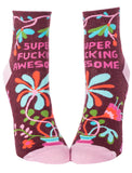 Super F***ing Awesome Ladies Socks - National Comedy Center