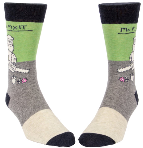 Mr. Fix It Men's Socks - National Comedy Center