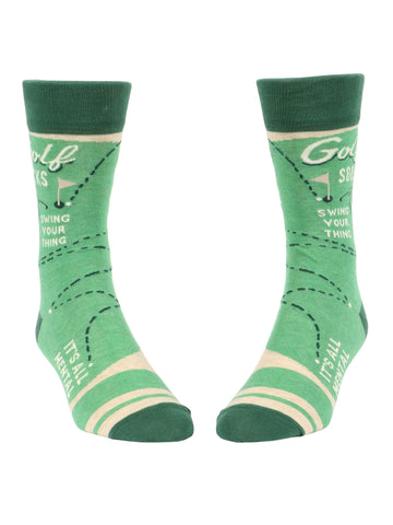 Golf Men's Sock - National Comedy Center